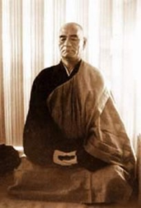 Master Taisen Deshimaru, founder of the International Zen Association